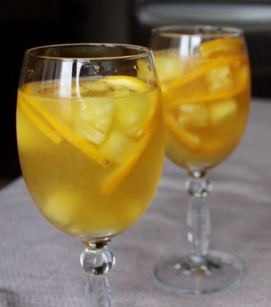 Фруктовый пунш из лимонов