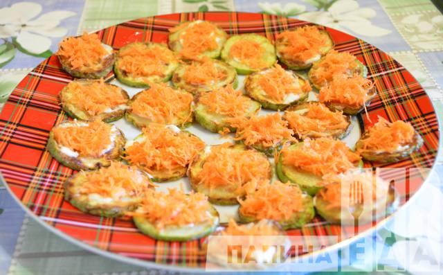 закуски на праздничный стол рецепты с фото из кабачков