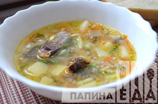 суп из сардинырецепт с фото
