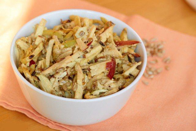 рецепт салат курица грецкие орехи зеленый горошек