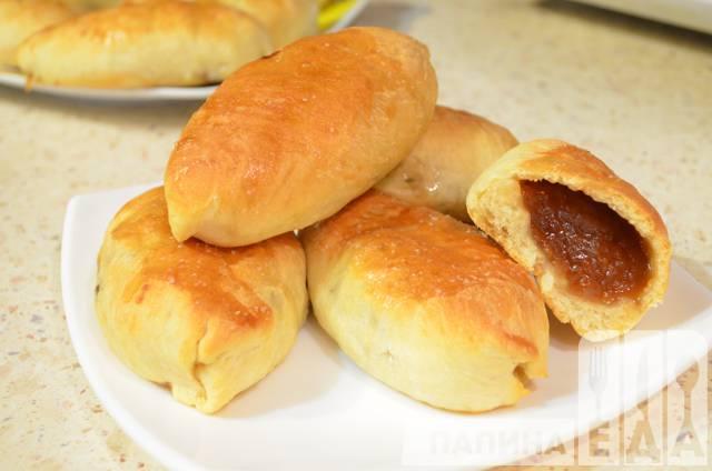 рецепт мягких и пышных пирожков в духовке