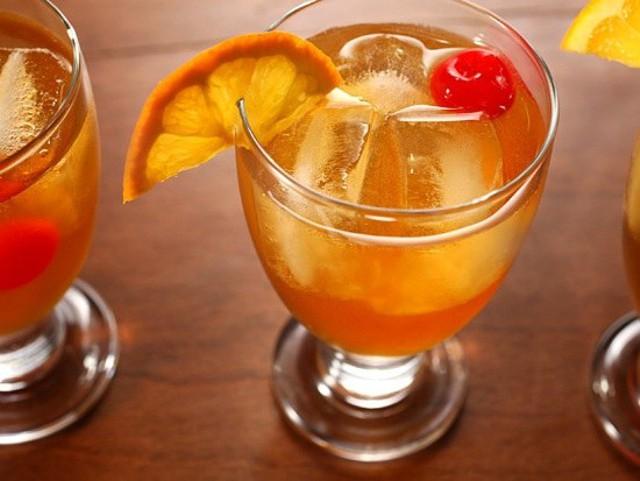 рецепты коктейлей из виски