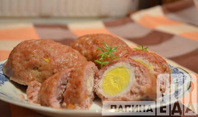 рецепт зразы с яйцом в духовке рецепт с фото