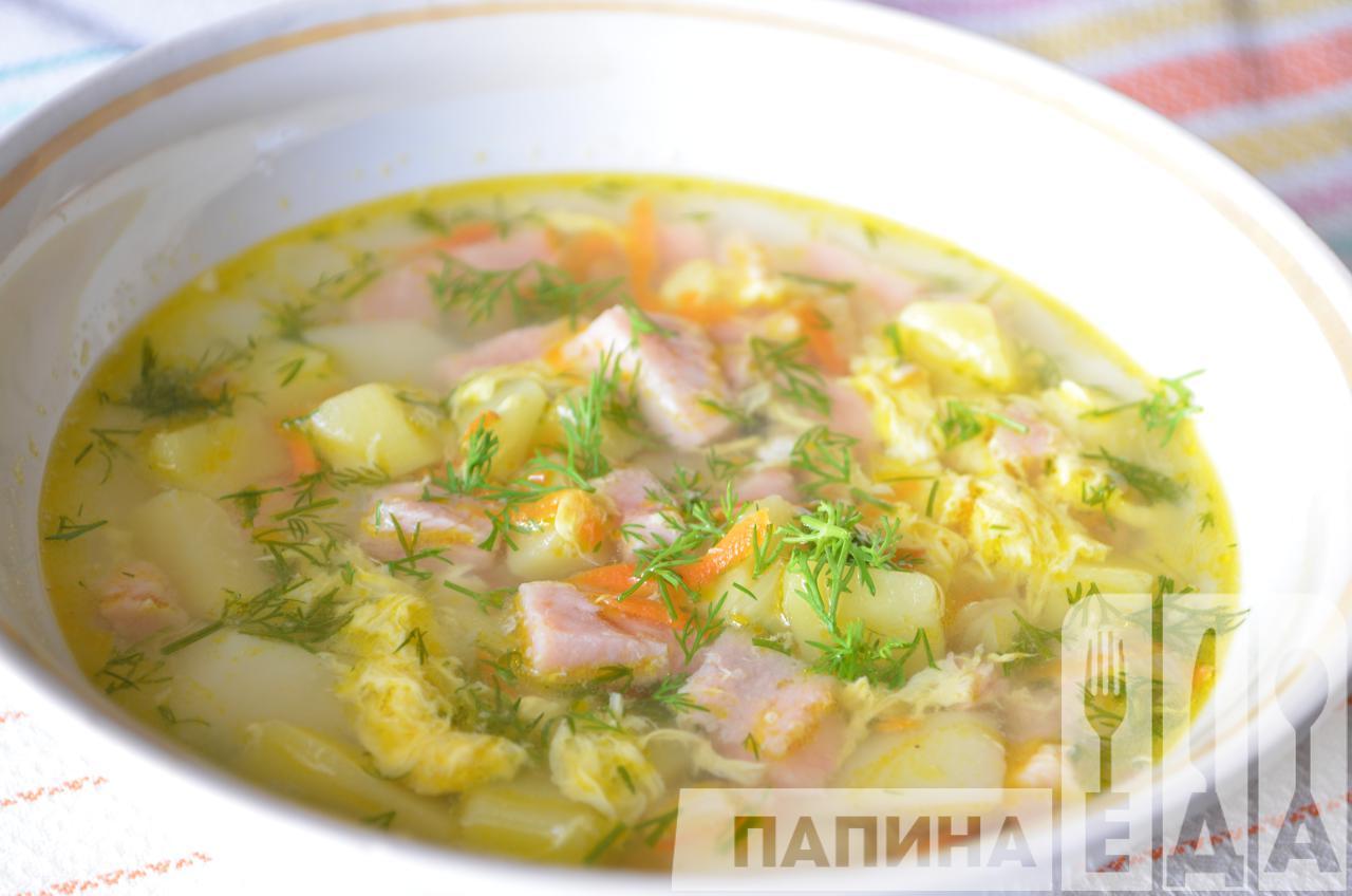 Суп из вареной колбасы рецепты простые и вкусные