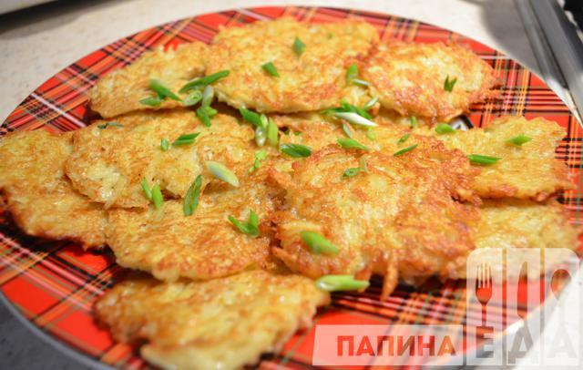рецепт приготовления драников с картофеля