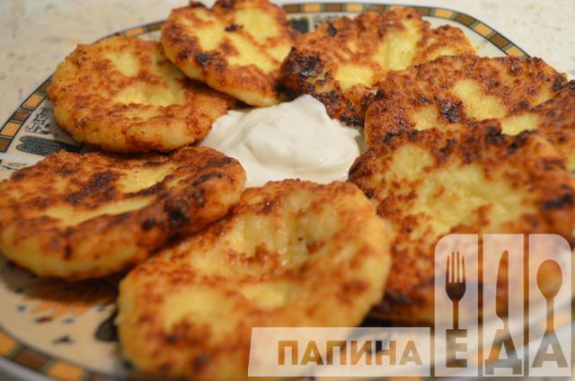 рецепт приготовления сырников из творога простой рецепт