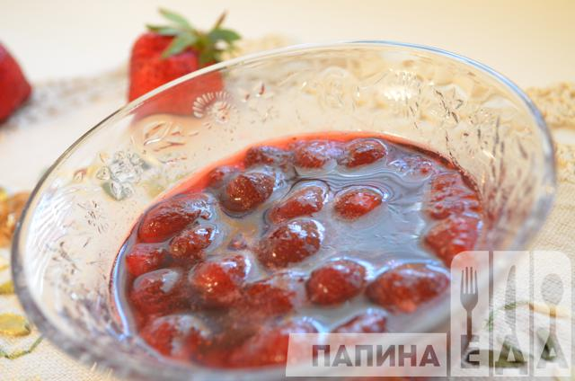 Варенье-пятиминутка из замороженной клубники , пошаговый рецепт с фото