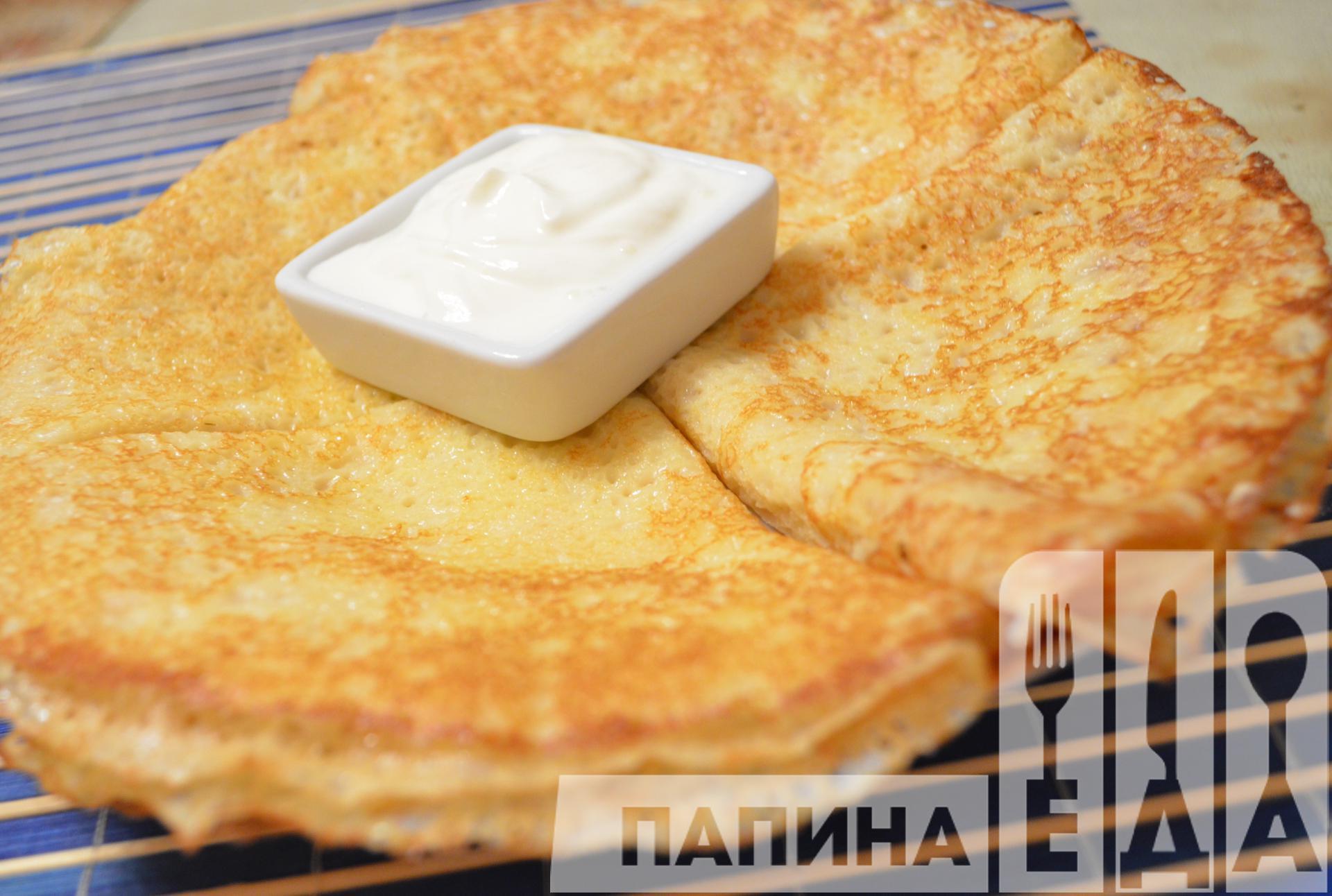 Домашние блинчики на молоке пошаговый рецепт