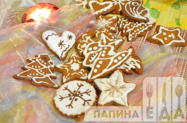 Печенье к новому году рецепт с фото