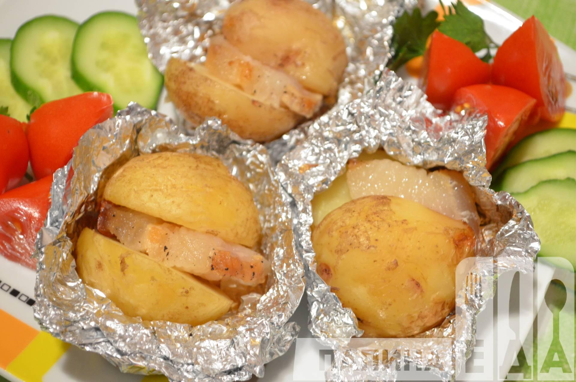 Картошка в мультиварке с салом рецепт пошагово