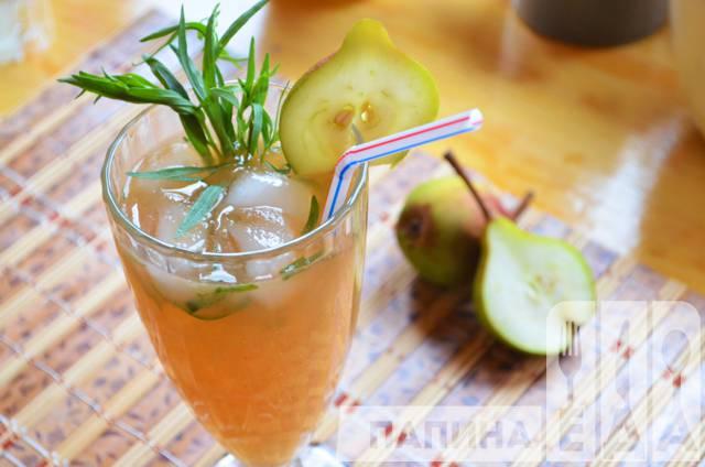 Грушевый лимонад с тархуном