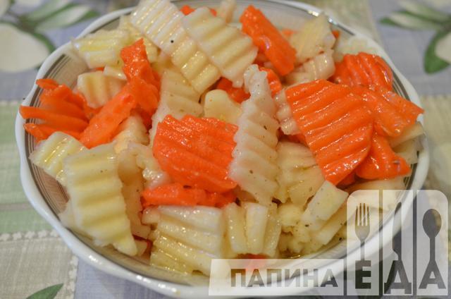 корейские овощные пельмени рецепт
