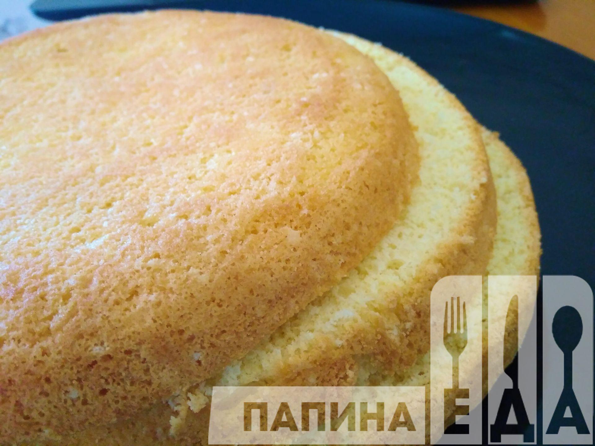 Бисквит рецепт классический с содой