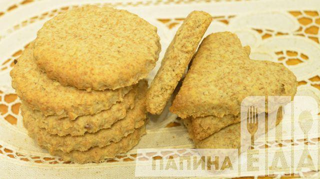 Печенье из овсяных хлопьев с отрубями