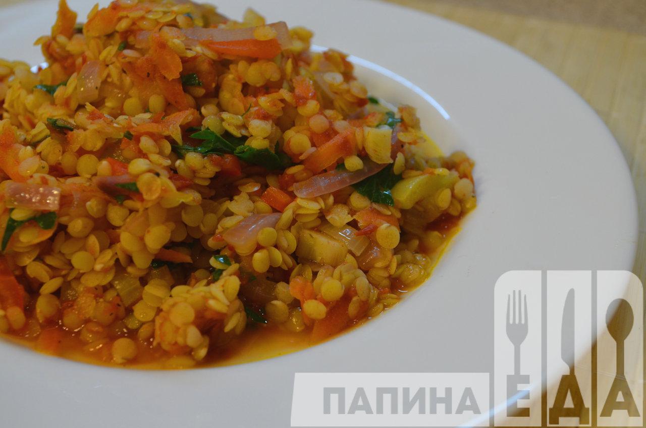 Чечевица рецепты с овощами