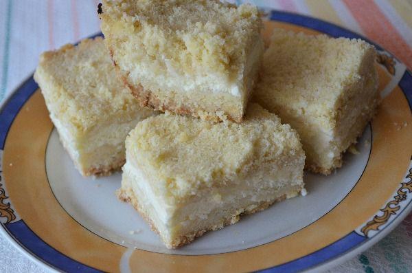Рецепт тертого пирога с творогом на маргарине