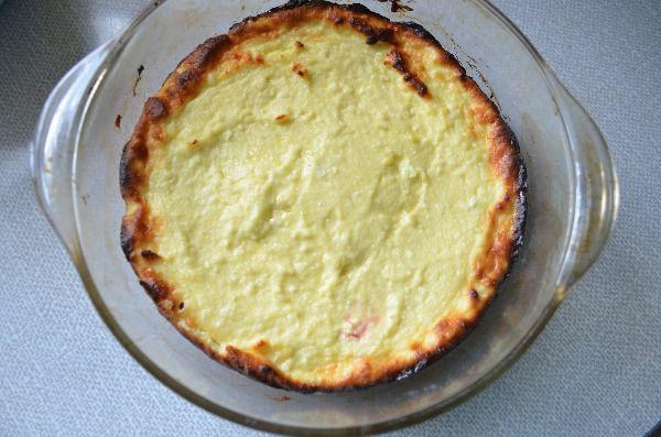 Творожная запеканка с клубникой, пошаговый рецепт с фото