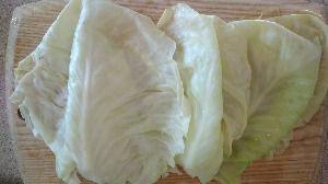 разобрать капусту на листья